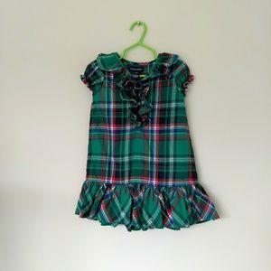 Ralph Lauren Plaid dress (girls-2T)